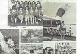 1986 Girls Swimming