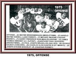 1975, OFFENSE