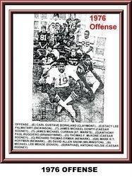 1976, OFFENSE