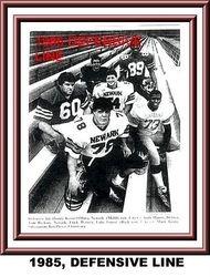 1985, DEFENSIVE LINE