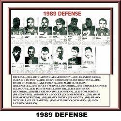 1989, DEFENSE