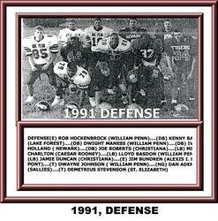 1991, DEFENSE