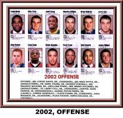 2002, OFFENSE