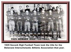 Newark High, 1929, wins title