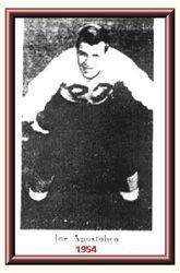 Joe Apostolico, All Stater, 1954