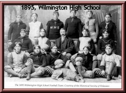 1895, WHS Football