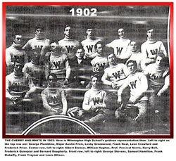 1902, WHS Football