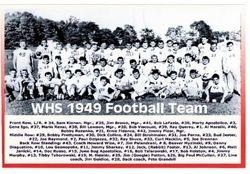 1949, WHS football team
