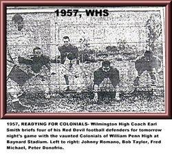 1957, WHS defenders
