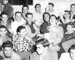 1950, Basketball game at PS