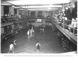 1933, WHS gym