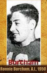 Ron Burcham, All State, 1950 R.I.P. Ronnie