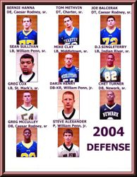 2004 Defense...All State