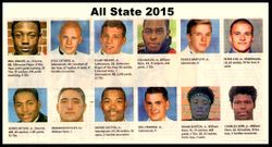 2015 All State team