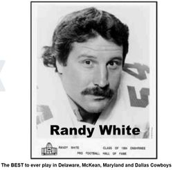 The BEST...Randy White...McKean, Maryland and Dallas Cowboys