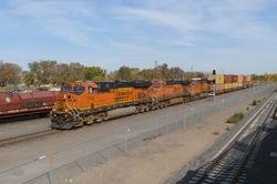 Eastbound Arriving at Belen, NM