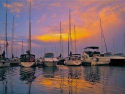 Sunset at Bayport