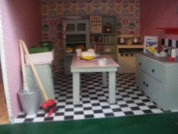 Little 1950s ish kitchen
