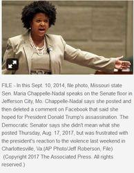 Missouri governor calls for expulsion of Dem senator who urged Trump assassination 05-27-6998* 04