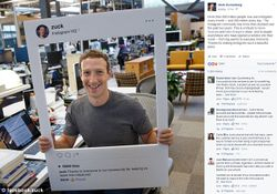 Mark Zuckerberg Covers His Camera With Tape