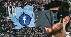 Facebook Twitter Banning Free Speech to Form Virtual Superstate