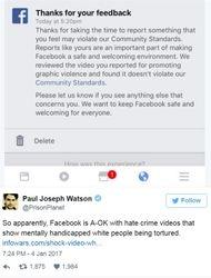"""Hunt & Kill All White Women"" Facebook Post Deemed Not Hate Speech 05"
