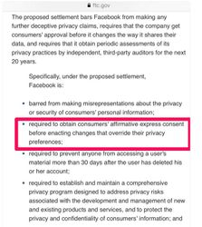 Facebook privacy settings 2
