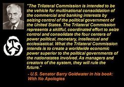 Trilateral Commission and US Senator Barry Goldwater