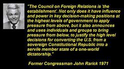 John Rarick Former US Congressman 1971