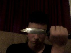 Me and my combat knife
