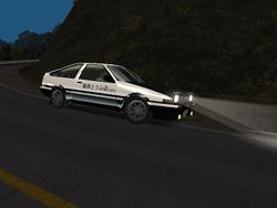 The AE86 is griping from the inside!!