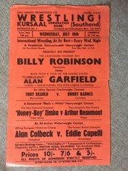 1963 Garfield vs Robinson