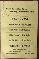 1961 Carlisle back cover