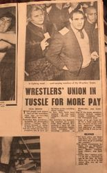 Wrestlers Strike part 1