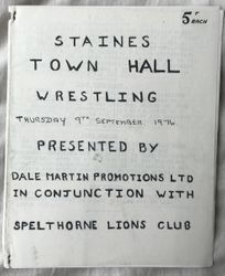 Staines Sept 1976 cover