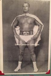 Dennis Mitchell with Mountevans belt
