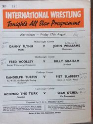 Fred Woolley as welterweight champ 2