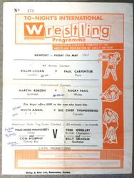 Fred Woolley as welterweight champ 3