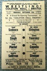 Colston Hall Trophy 1963