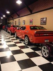 Inside the beautiful showroom