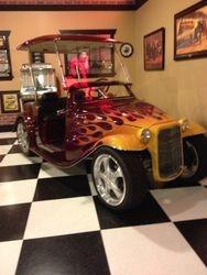 Golf cart or hot rod!?