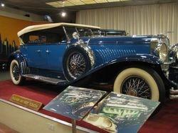1931 Duesenberg Model J Derham Bodied Tourster