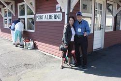 Port Alberni Train Station