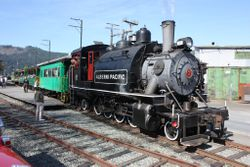 Port Alberni Steam Train