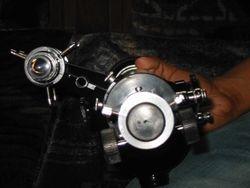Custom made Focuser barrel and Finderscope