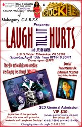Comedy Event Promo Flyer