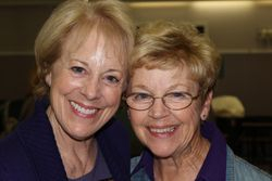 Linda Drever & Ellen Thomas