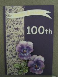 Auntys' 100th Birhtday