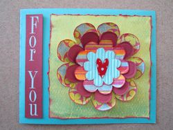 July Flower Card Competition