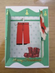 Inside Santa's Wardrobe